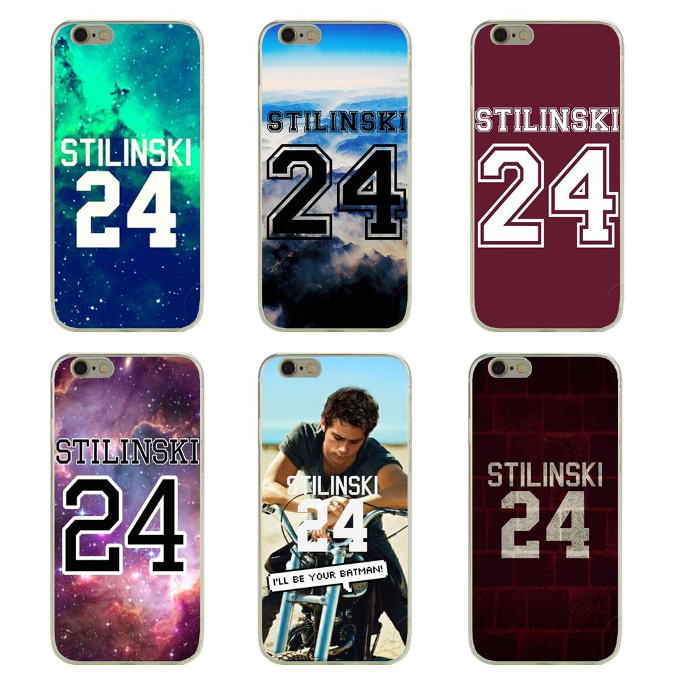 Fashionable Teen Wolf Season phone cases for Apple iphone 4 4s 5 5s ...