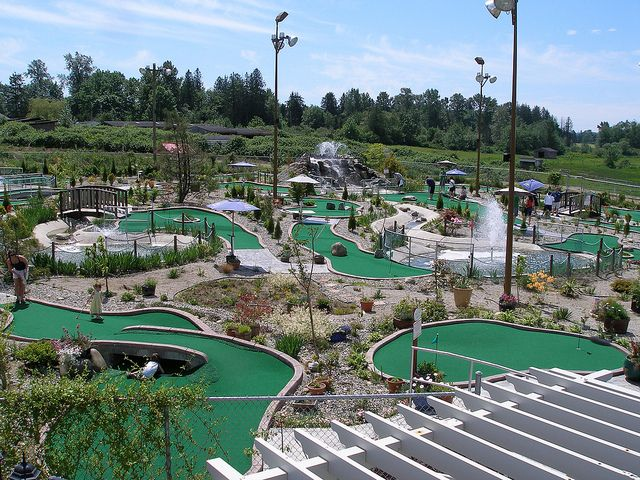 For The Best Mini Golf Ever You Should Check Out Hi Knoll Driving Range On St And Ave Surrey Langley Border