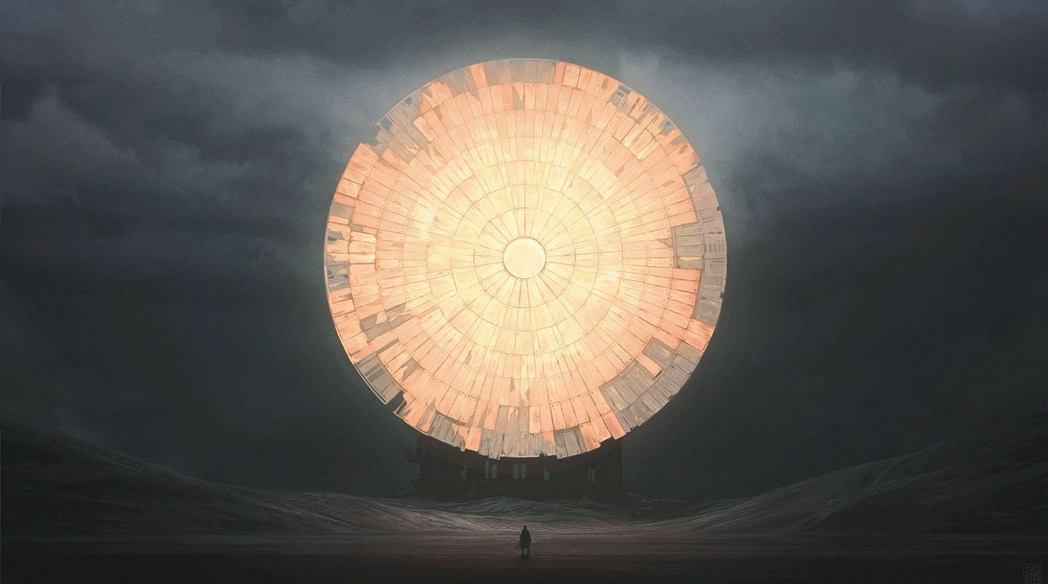 Avalisa letter upper case t stretched wall art - Painting By Yuri Shwedoff