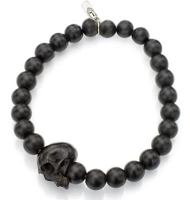 Hottest mens skull bracelets and skull rings for men