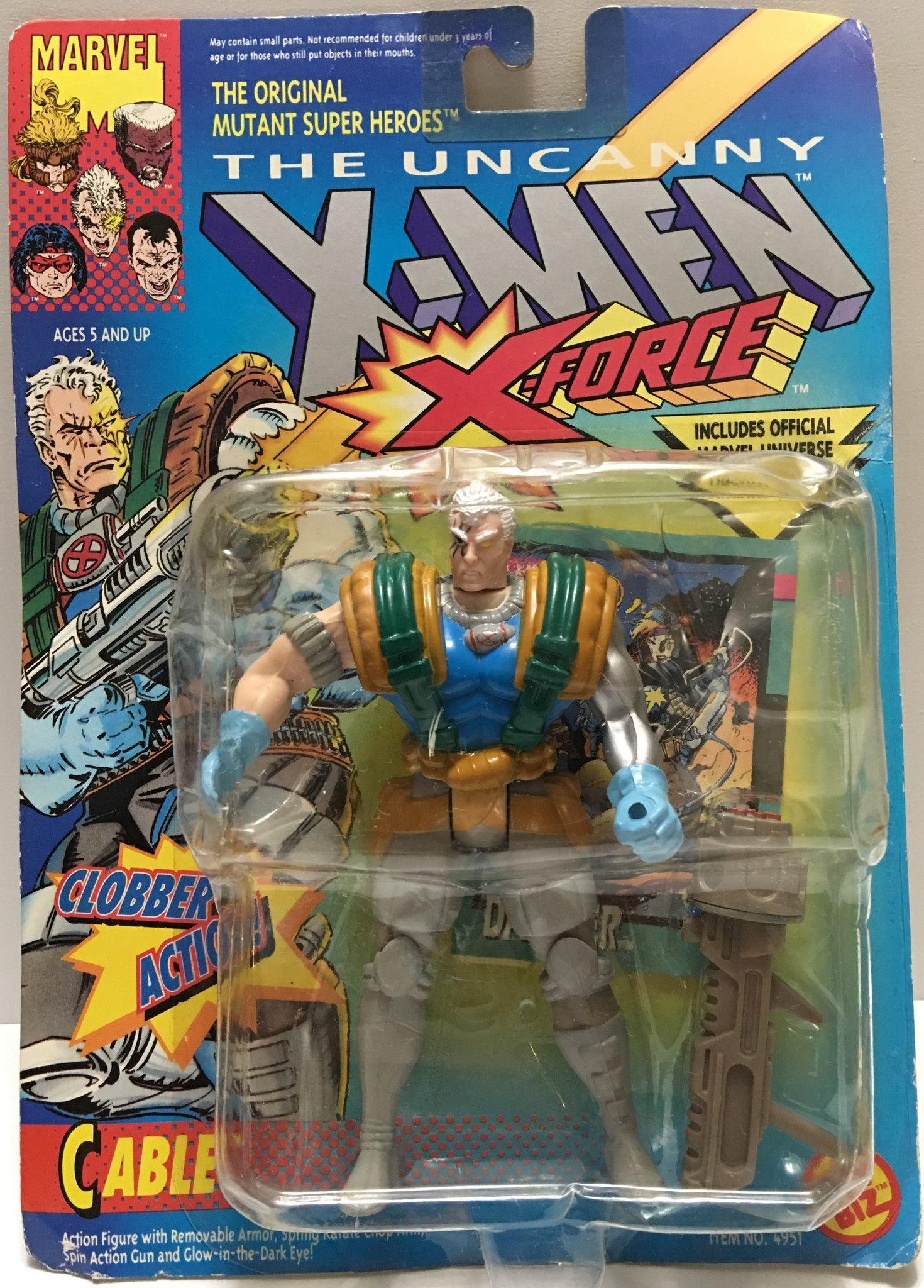 X-Men Trevor Fitzroy 1994 Toy Biz Futuristic Crystal Battle Armor Enemy Bishop