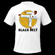 Black Belt T-Shirt for karate enthusiasts.