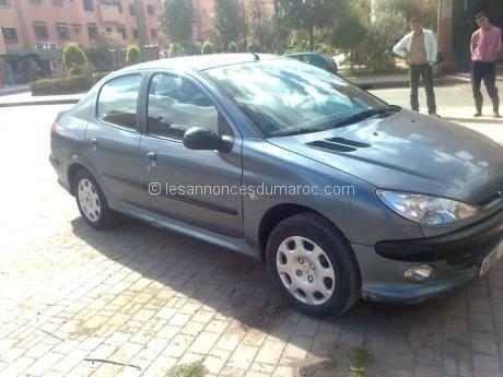 Peugeot 206 Marrakech Automobile au MAROC Pinterest Peugeot