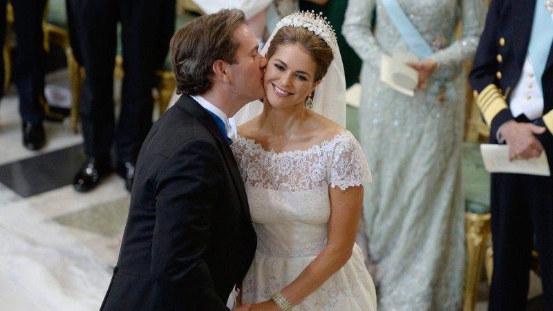 ein Traum in weiss und ein paar Tränen.. Hochzeit von madeleine von Schweden