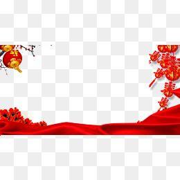 red clothlanternchinese new yearflowerredclothchinesenewyear backgroundmaterial