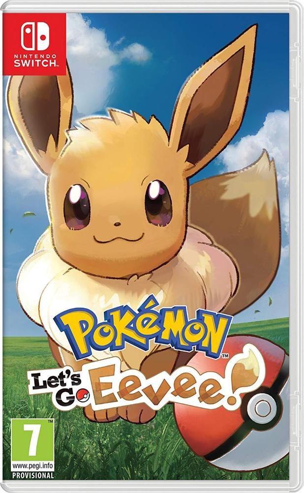 Pokémon: Let's Go, Eevee! (Nintendo Switch) NEW #Nintendo