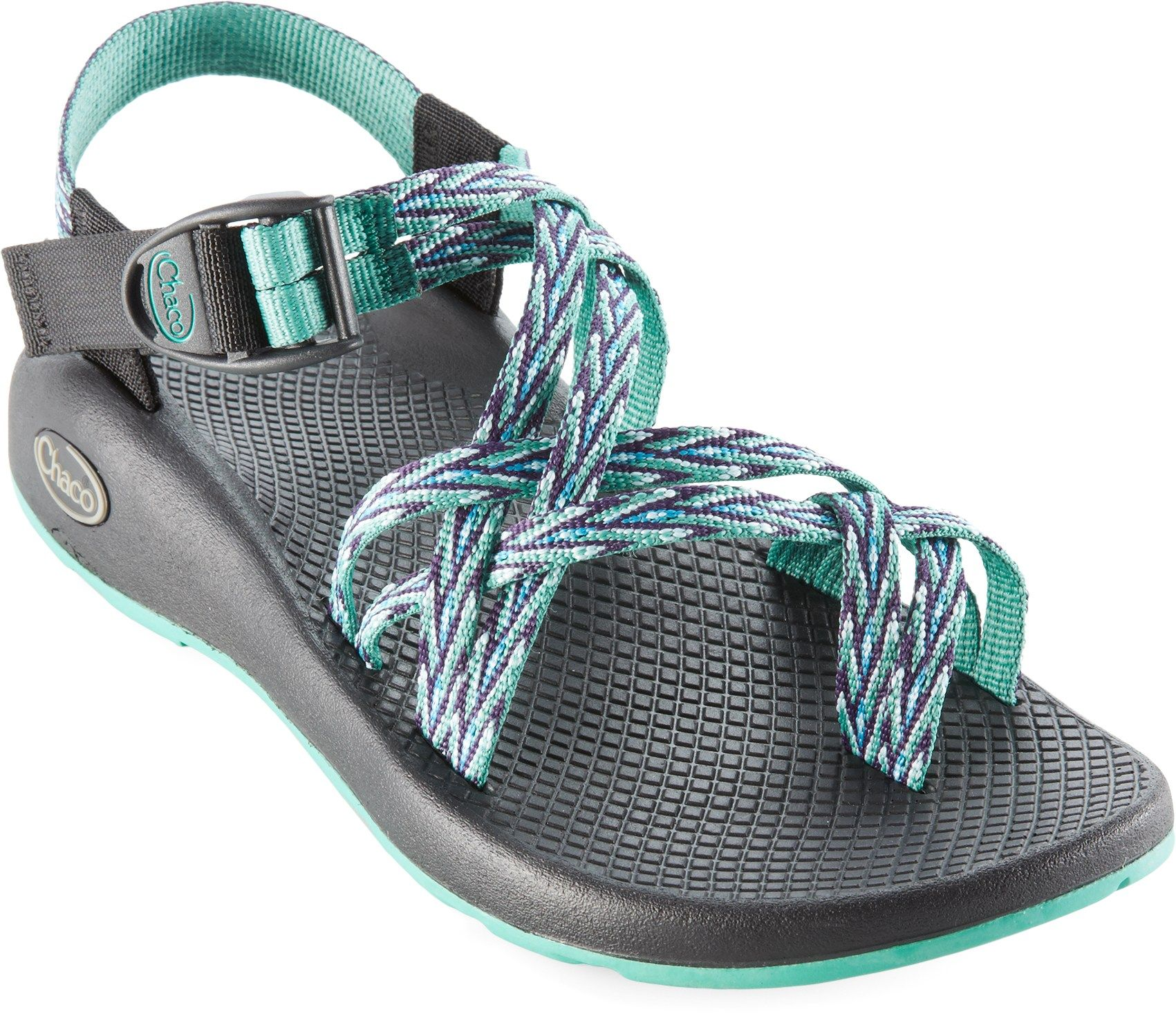 Chaco Women's ZX/2 Yampa Sandals Black 6 Medium
