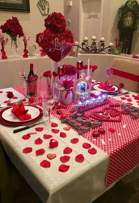 Cena De San Valentin Inspirate En Estas Creativas Y Hermosas Decoraciones A Romantic Dinner Decoration Valentines Day Dinner Valentines Gifts For Boyfriend