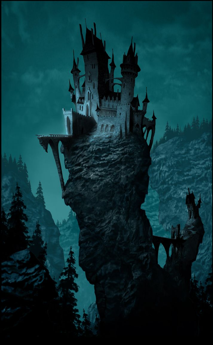 castle | #illustration #conceptart #artist #creative #castle #concept #picture #illustrator #photoshop #realistic