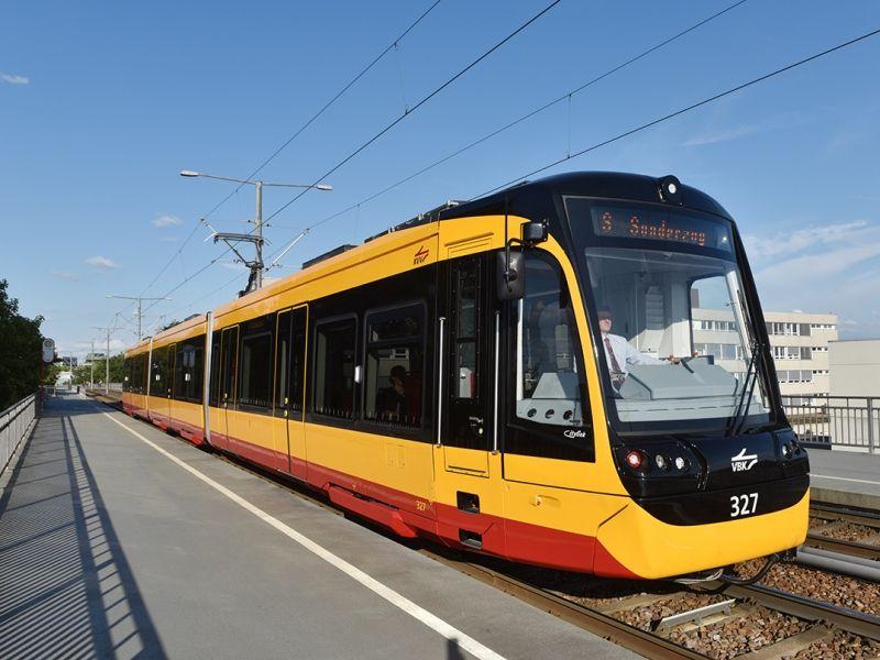 Karlsruhe Welcomes New Light Rail Vehicle Deutschland