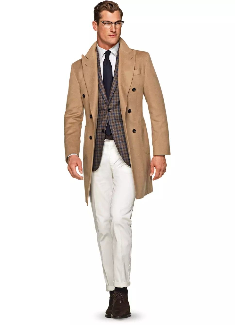 Suitsupply camel doublebreasted overcoat Moda Maschile 9a8070ce623
