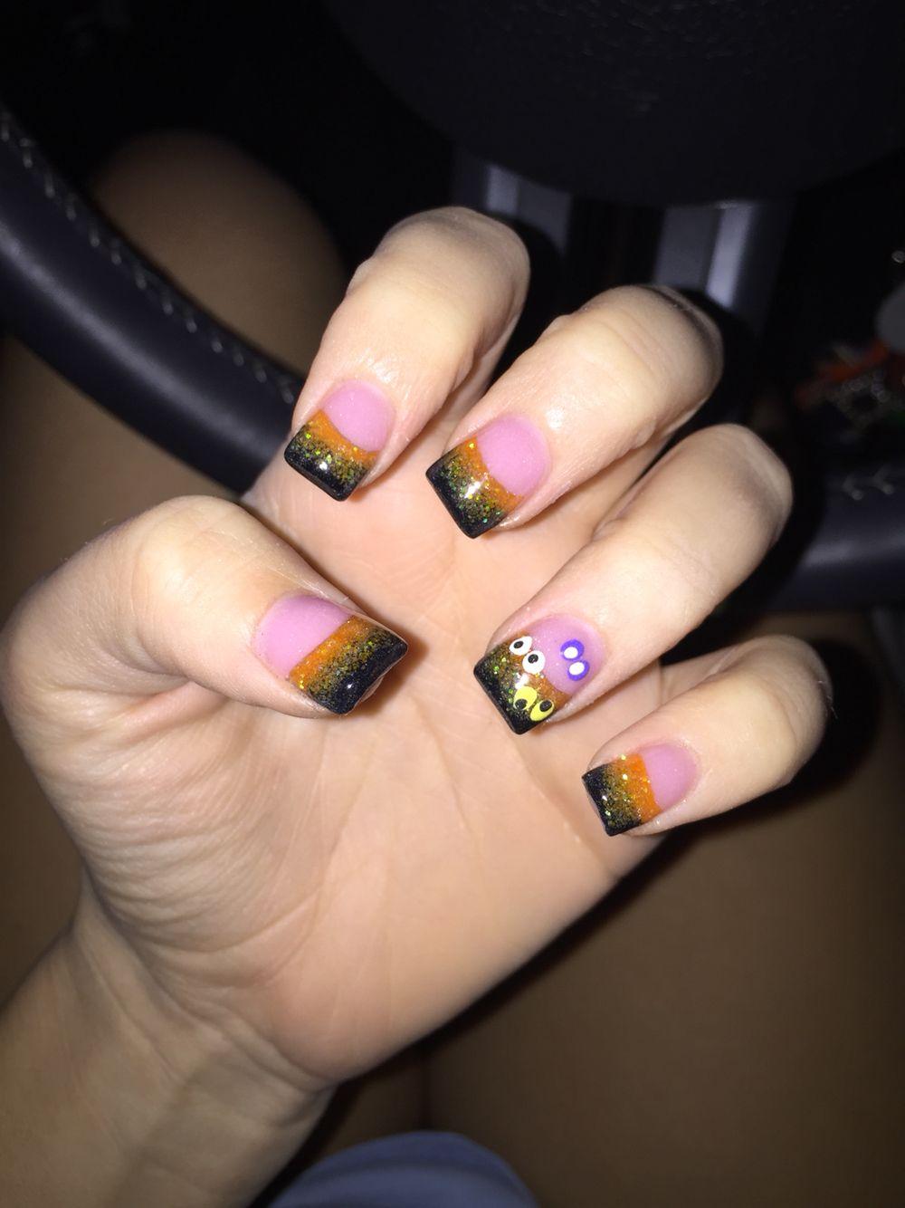 love my halloween nails | makeup/nails | pinterest | makeup