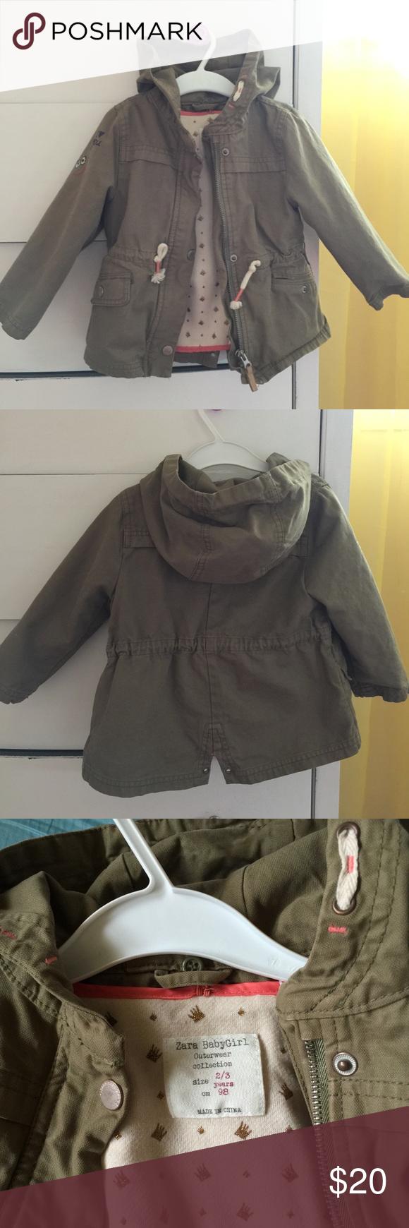 1b06174bd Zara baby girl coat Zara baby girl coat 2/3 years Zara Jackets ...
