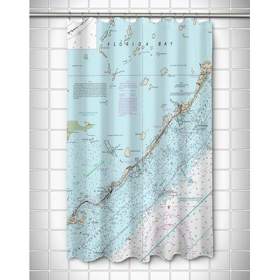 Longshore Tides Viggo Islamorada Fl Single Shower Curtain Shower
