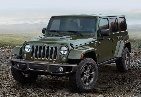 Cool Car Photos Jeep Wrangler Unlimited 75th Anniversary Edition