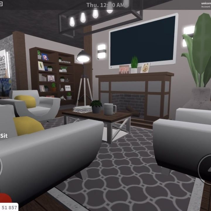 Family Room Kitchen I Forgot About This Video Another Build By Slycat Featuring A House She Built By House Decorating Ideas Apartments House Cafe House