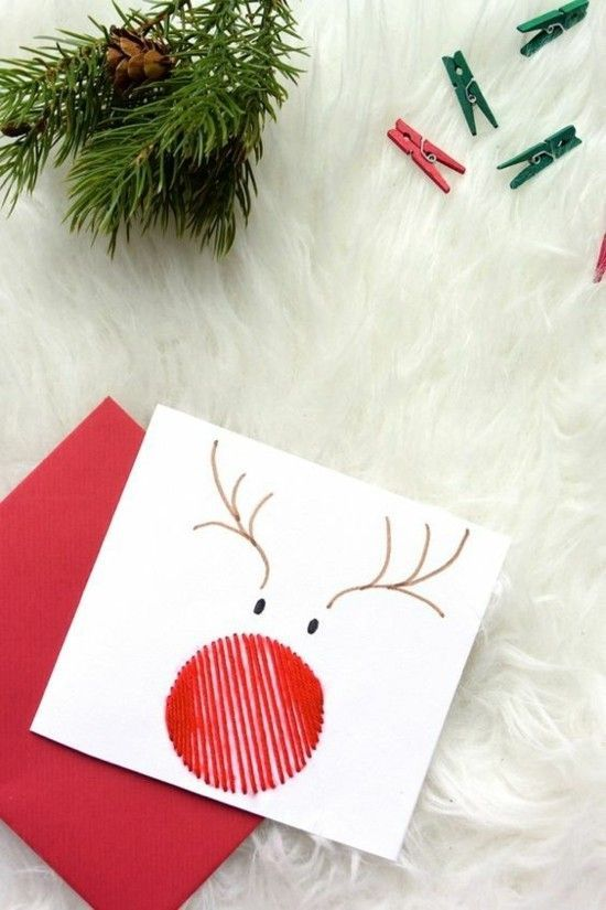 Photo of Make 65 ideas for Christmas cards yourself