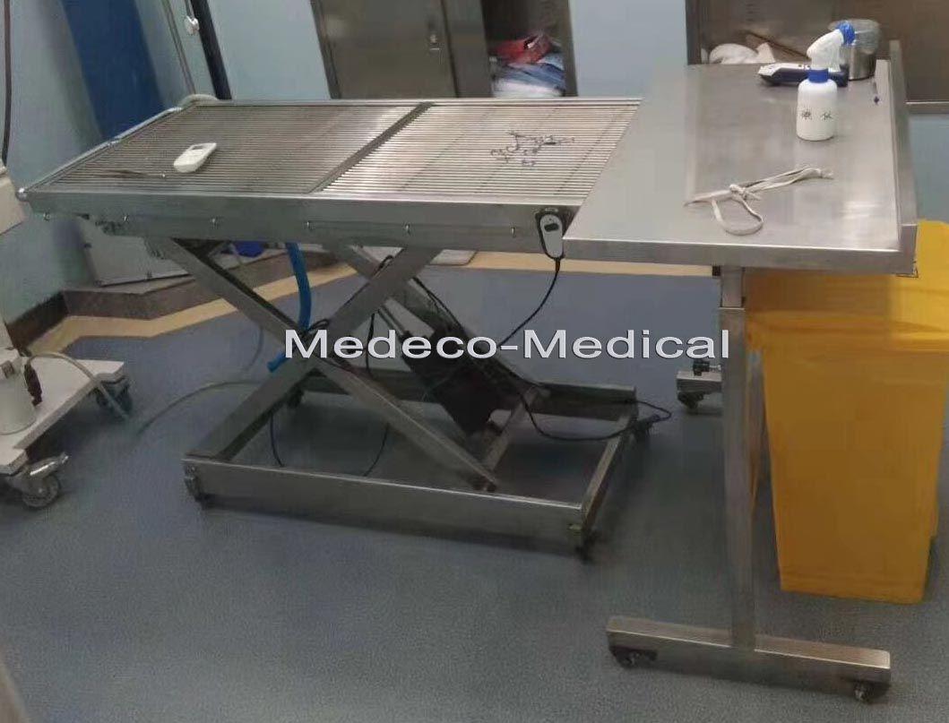 Uso adecuado de la mesa de tratamiento de mascotas