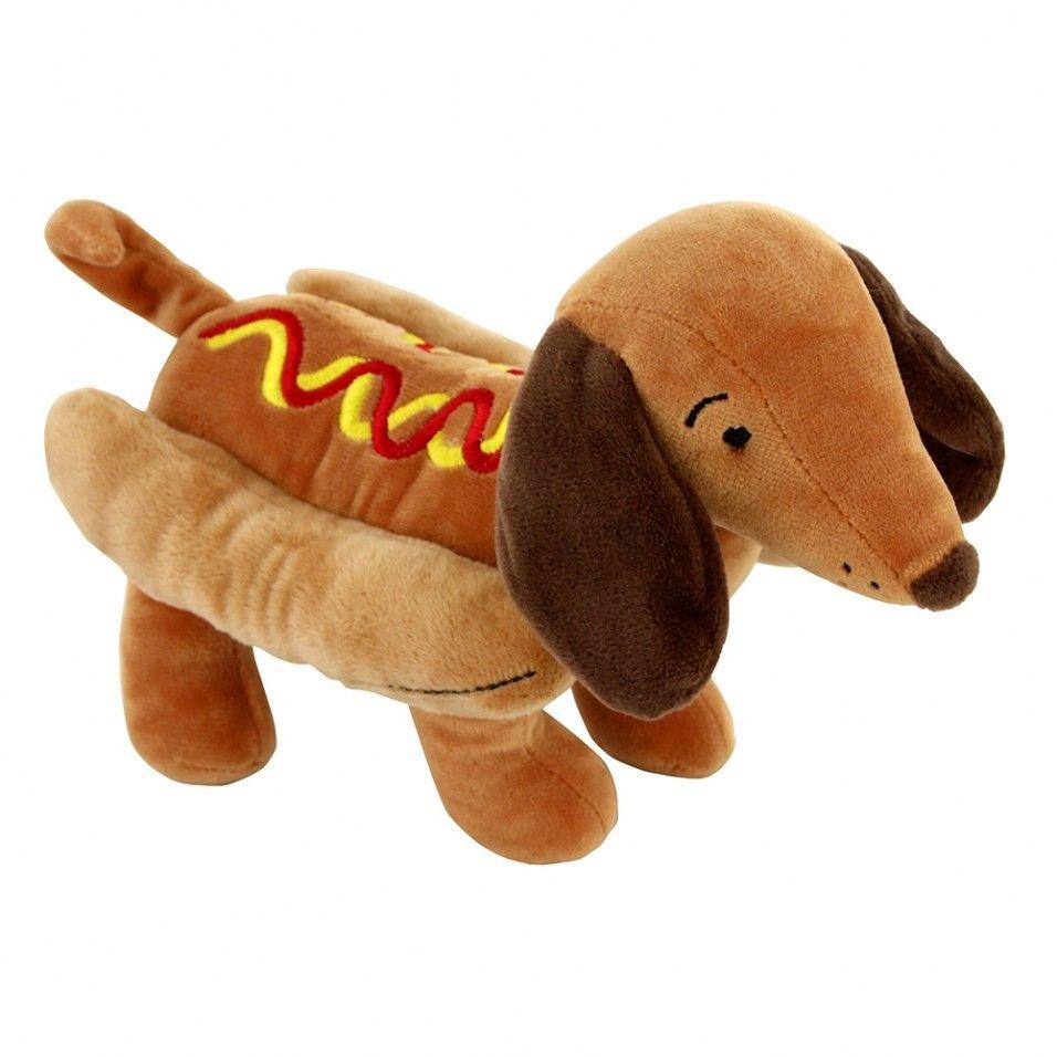 Puppy Chow Hot Sausage Dog Plush Puppy Chow Sausage Dog Puppies