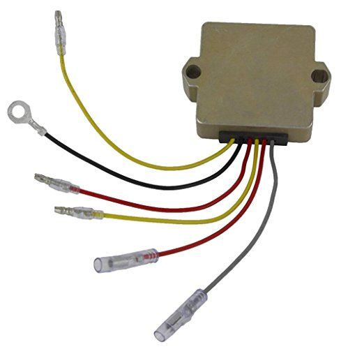 New Mercury Mariner 6 Wire Rectifier Regulator 815279 Manual Guide