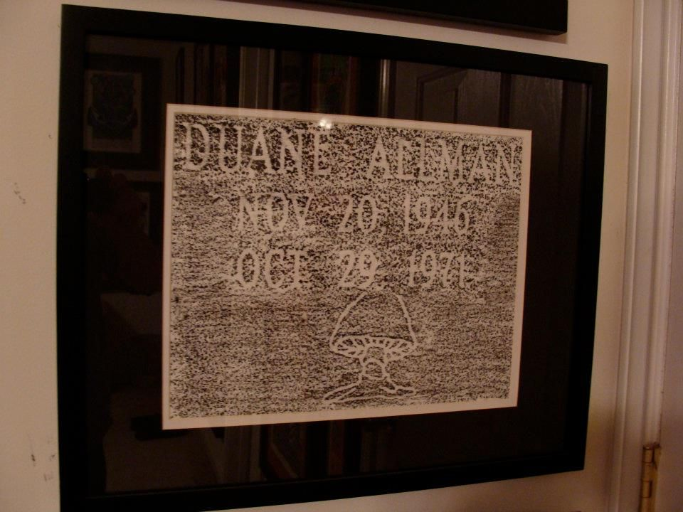 not a poster at all just duanes tombstone rubbing from rose hill