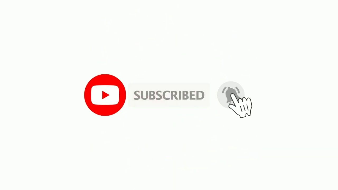 Subscribe And Bell Icon Intro And Sound Without Copyright Animation Subscribe Button Youtube Intro Bell Icon Subscribe Button Youtube