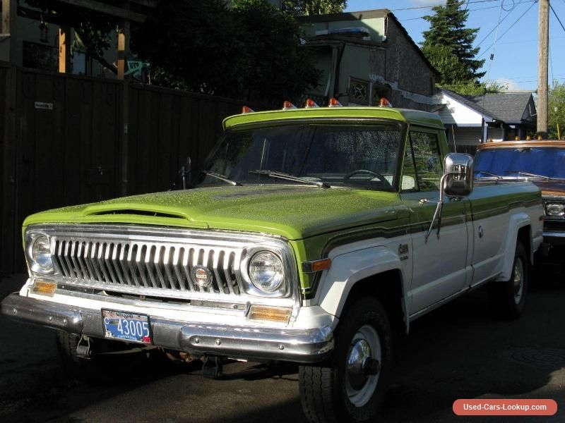 1975 Jeep J10 Jeep J10 Forsale Canada