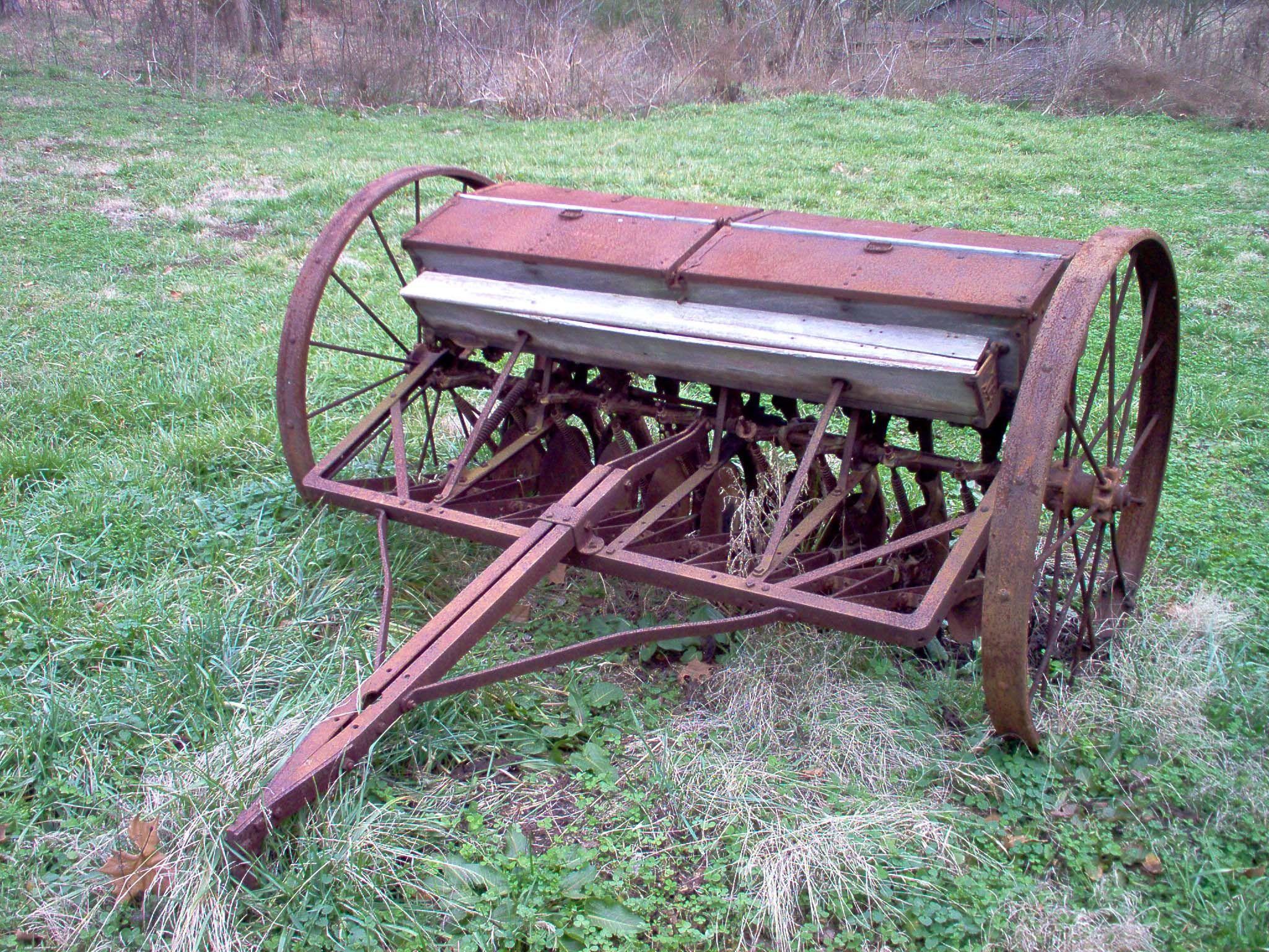 Seeder old farm equipment times past pinterest for Craigslist fishing equipment