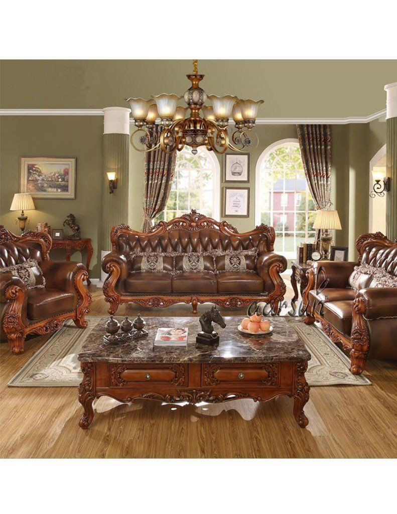 Wooden Sofa Design For Living Room Best Of Luxurious Brown