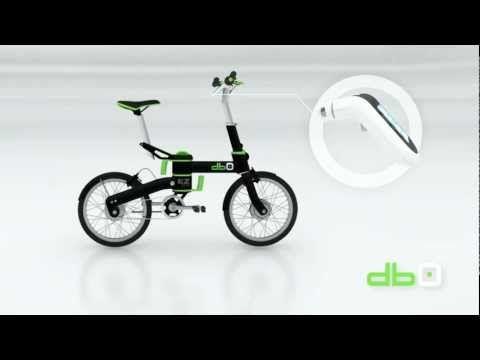 Vidéo de démonstration db0, le vélo électrique et pliable de Rool'in