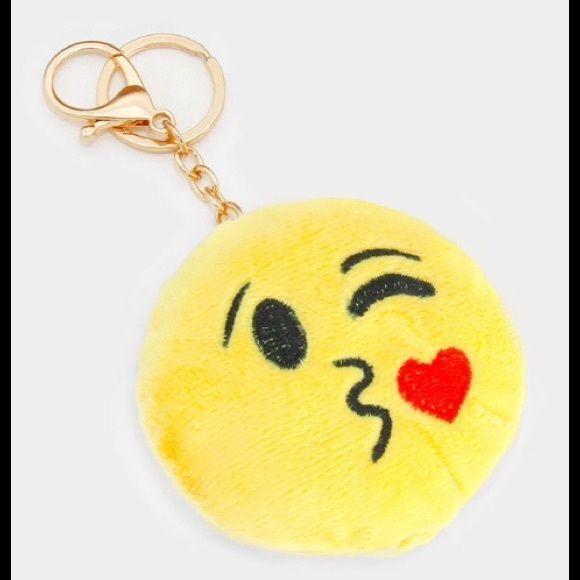 Emoji Key Chain Keychain Emoji Key Card Holder