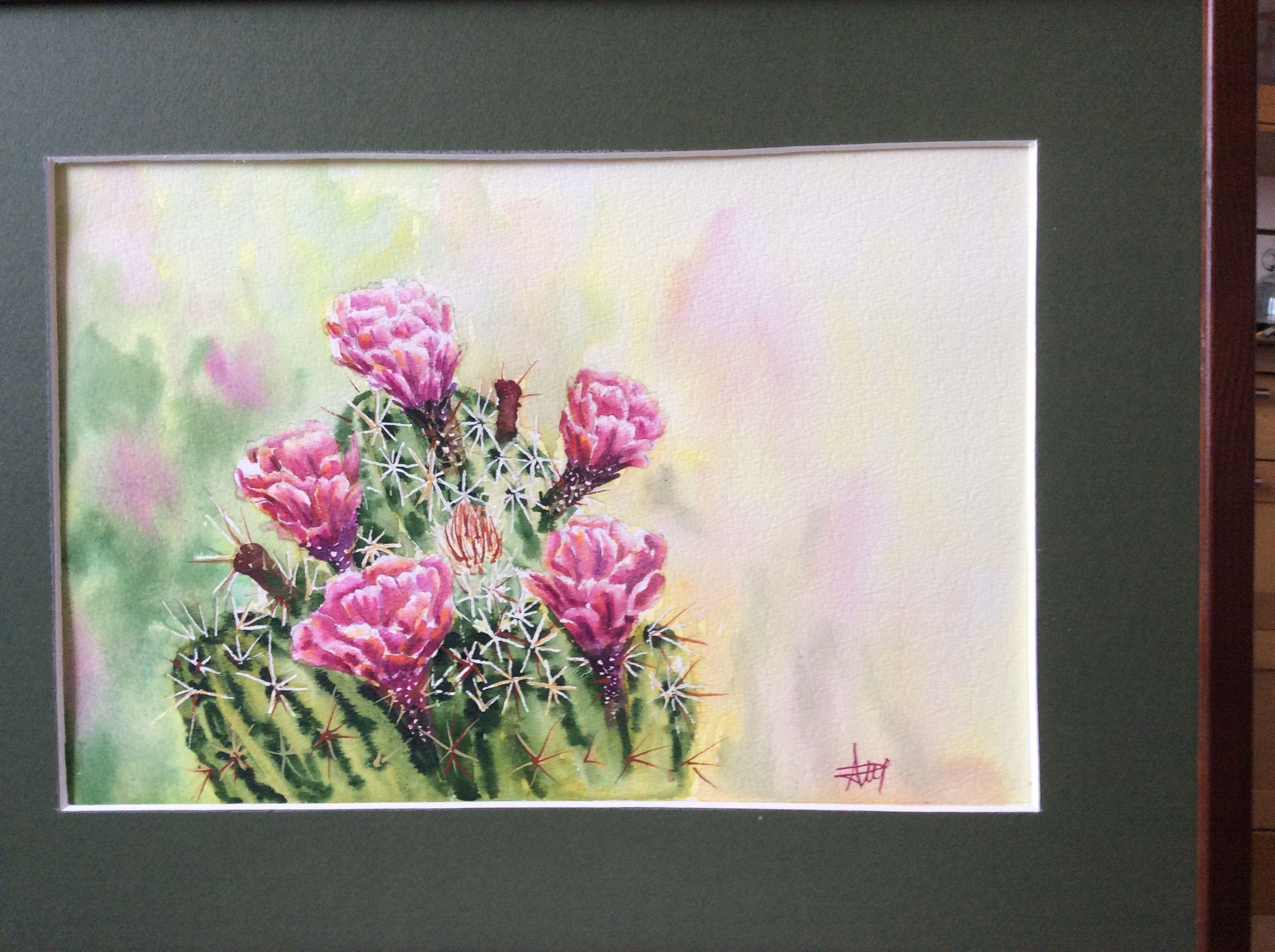 Anna Pisarska Akwarela Painting Art