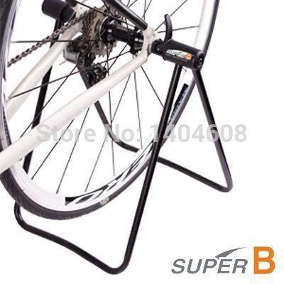 MTB Road Cycle Bicycle Bike Stand Display Wheel Hub Repair Kick Stand Parking