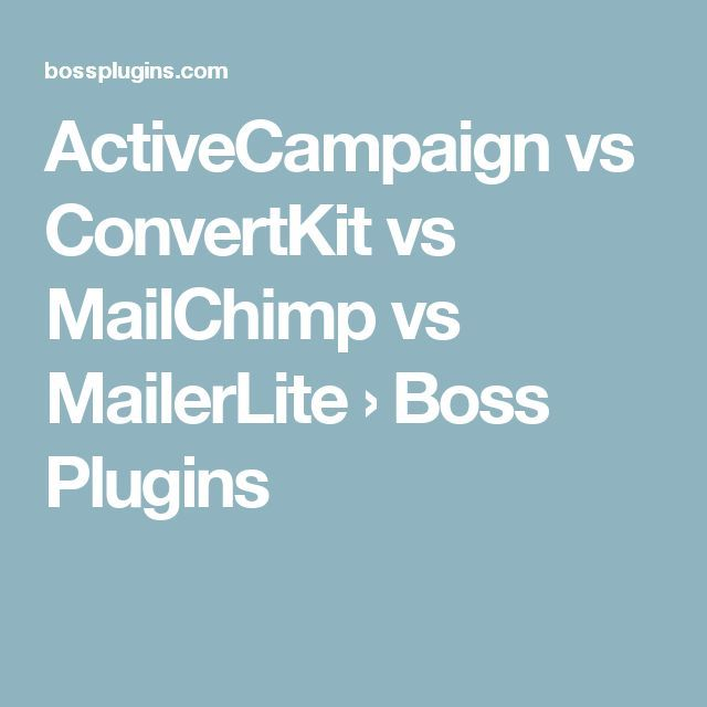 Get This Report about Mailerlite Vs Activecampaign