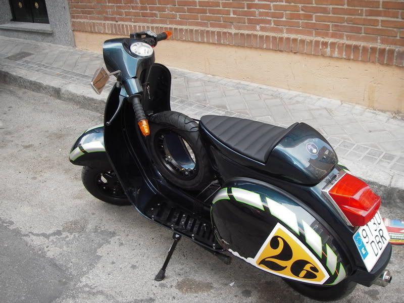 vespa 125 custom