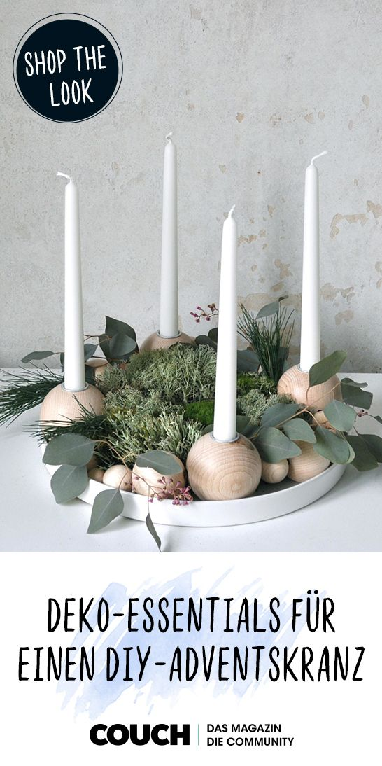 Photo of Decorative essentials for your DIY advent wreath