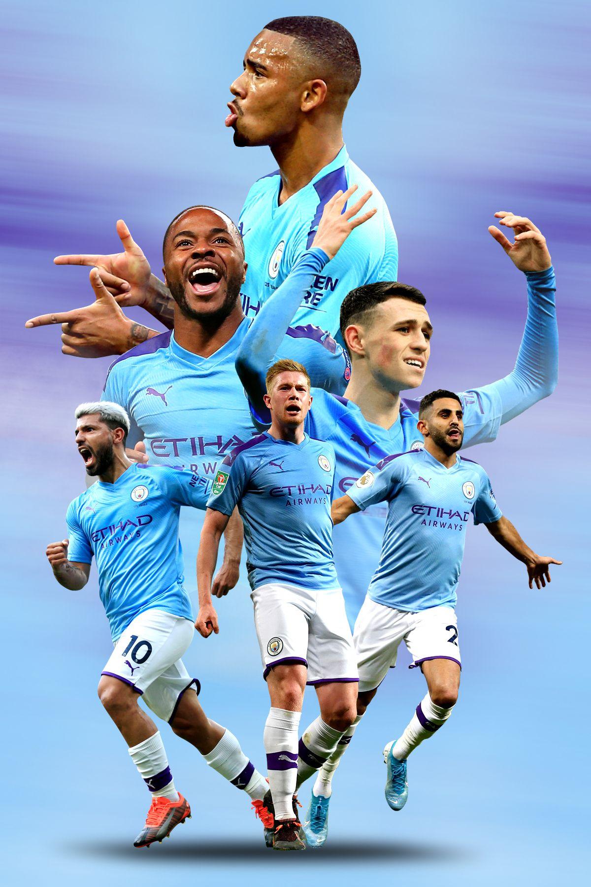 Manchester City Poster   Manchester city, Gambar sepak bola, Sepak bola