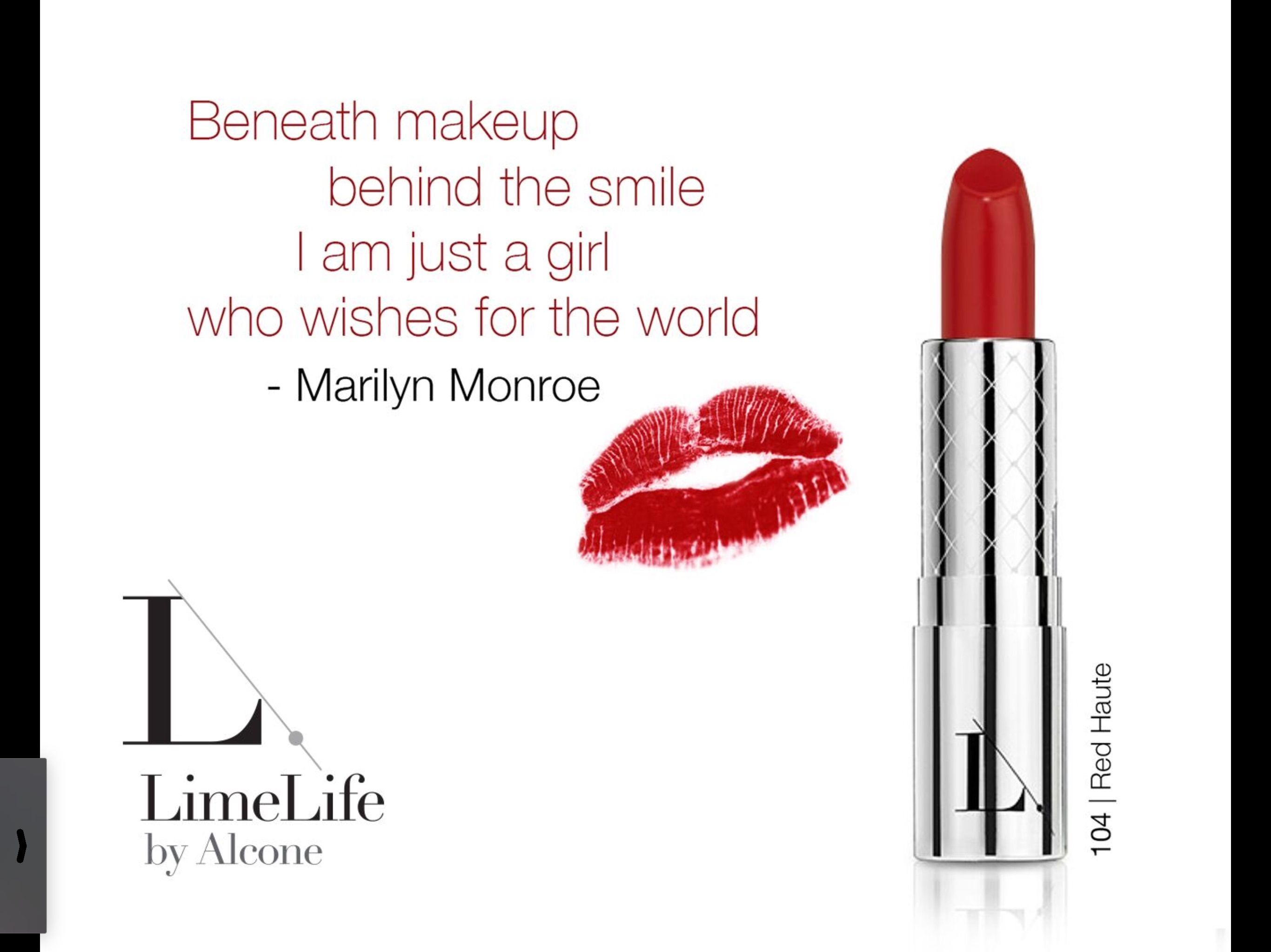 Home LimeLife by Alcone Red lipstick quotes, Perfect