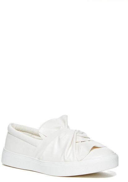 best loved 90348 7f06b Mia Zoe Slip-On Sneaker | Products | Sneakers, Bow sneakers ...