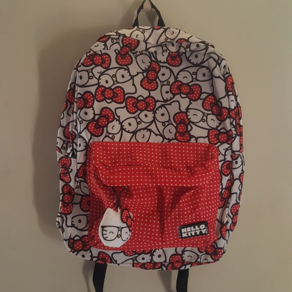 Full Size Backpack Hello Kitty In 2021 Hello Kitty Coloring Hello Kitty Loungefly Bag
