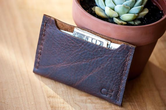 79953b8dd487b mens leather wallet slim wallet leather pocket wallet - great present for the  guys!!