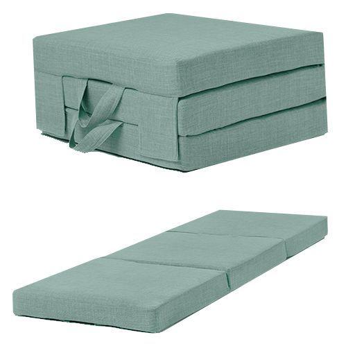Fold Out Guest Mattress Foam Bed Single
