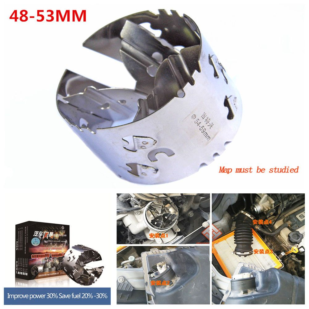 Car Auto Power Machinery Turbo Air Intake Supercharger Fuel Gas