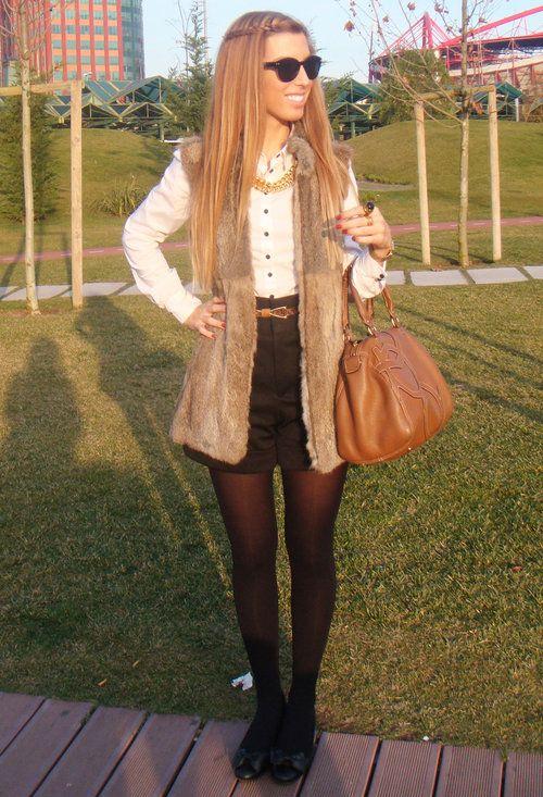 fur vest :)