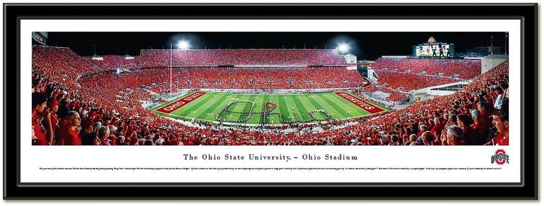 Ohio State Buckeyes Football Pictures Quotes Frames Posters All With Osu Logo Ohio Stadium Pictures The Ho Ohio State Buckeyes Football Ohio Stadium Ohio State