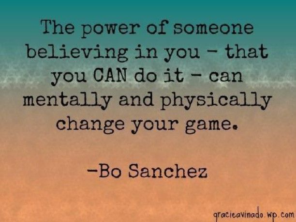 Douglas Weiss On Instagram The Power Of Someone Believing In You That You Can Do It Can Mentally And Ph Connection Quotes Lessons Learned Recovery Quotes