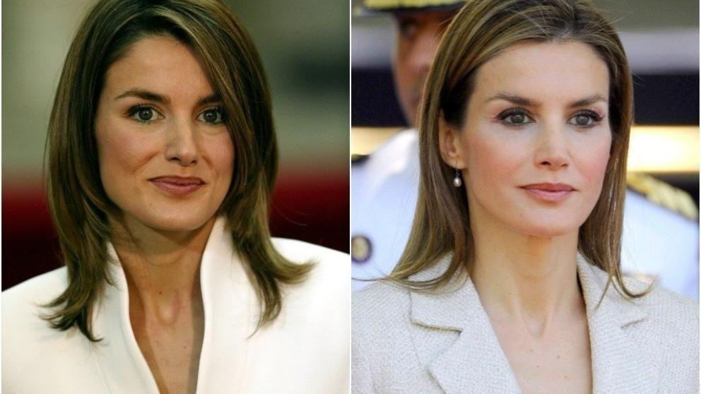 Letizia de asturias antes y despues de adelgazar