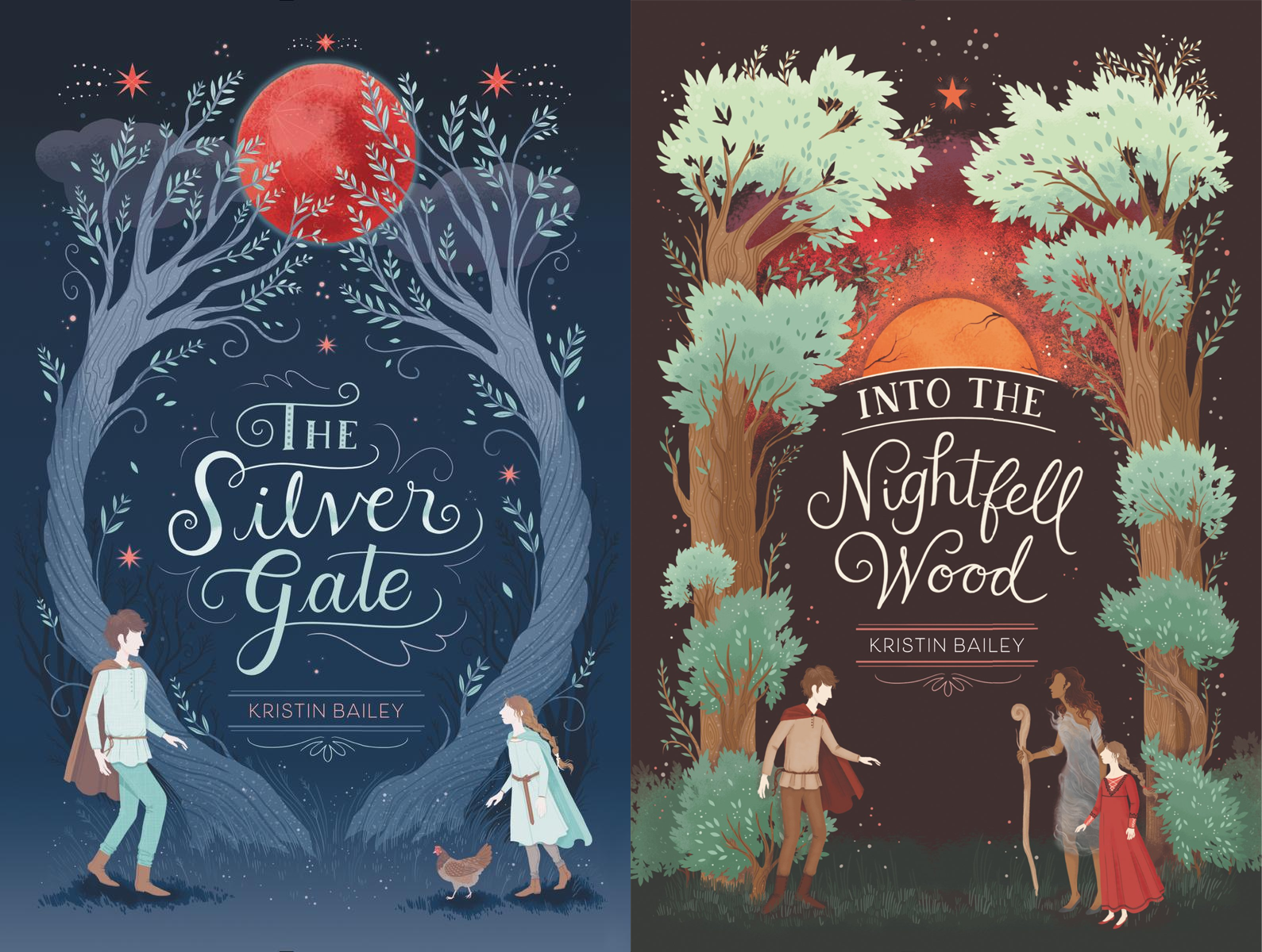 407 best pretty books images on pinterest the silver gate and into the nightfell wood by kristin bailey art by lisa perrin fandeluxe Choice Image