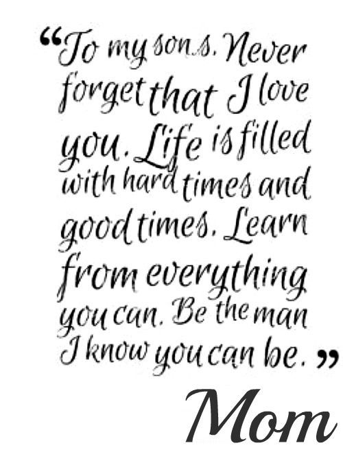 Love You Quotes For Son