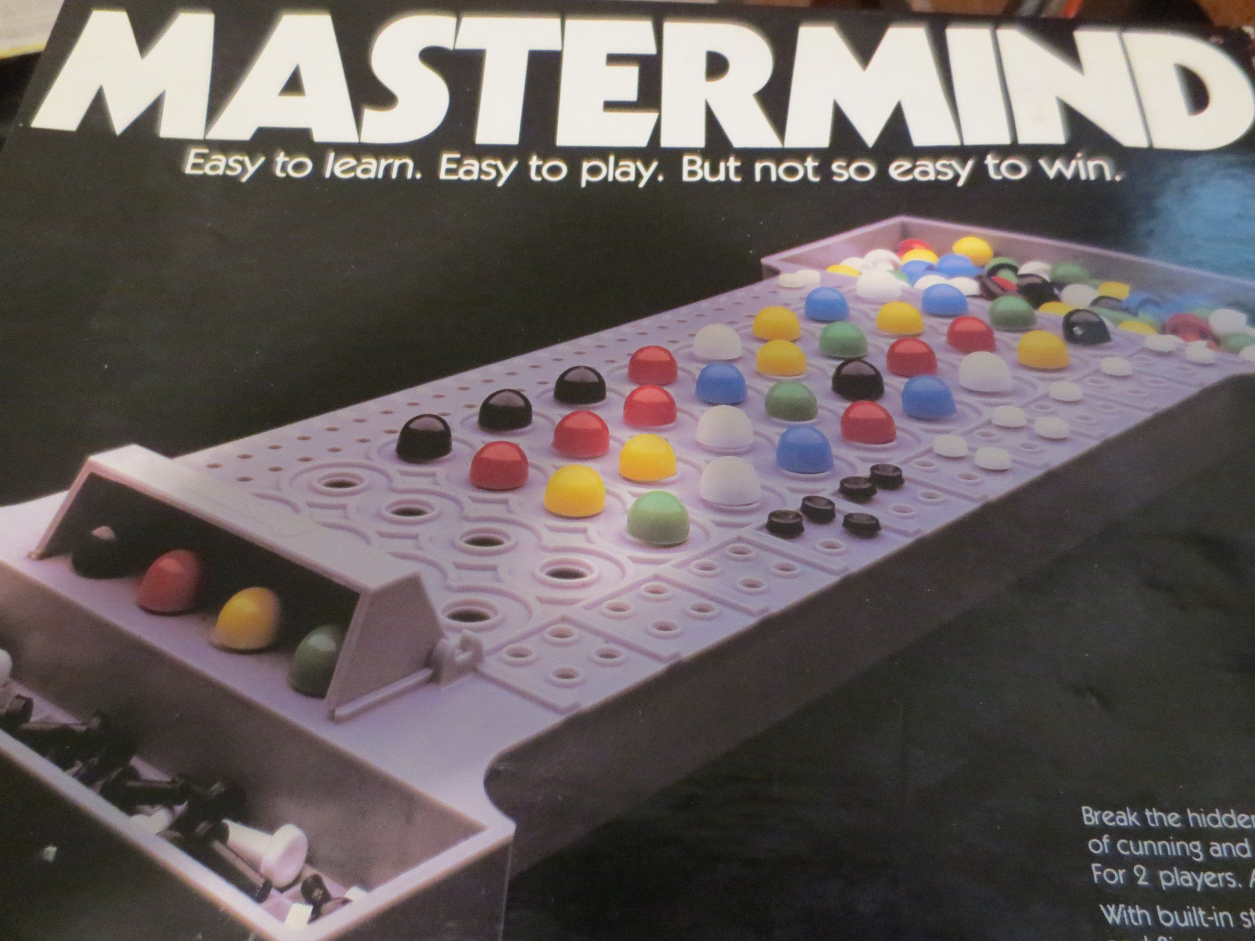 1981 Mastermind Break the Hidden Code in This Game of